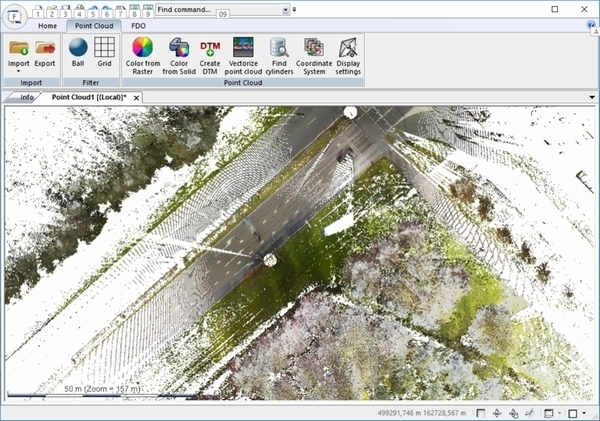 Adtollo Topocad 18 Pointcloud (extra op basis)