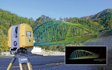 Topcon GLS-2000, 3D scanner bereik 130 meter