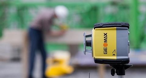 GeoMax Zone60DG, roterende laser hor.+ Vert., digitale afs.
