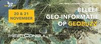 Kom bij ons langs op de GeoBuzz 20 en 21 november