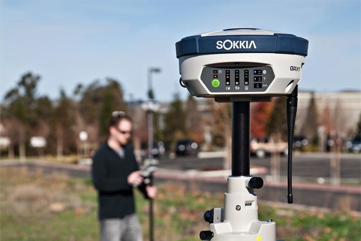 VERKOCHT Sokkia GRX1, gebruikte rover met GSM