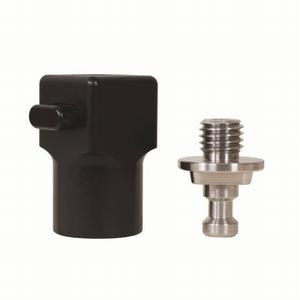 Snelkoppeling 5/8inch 60mm voor GPS of prisma