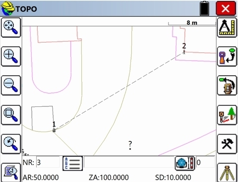 SurvPC, Basis Total Station + Waterpasinstrument + CAD