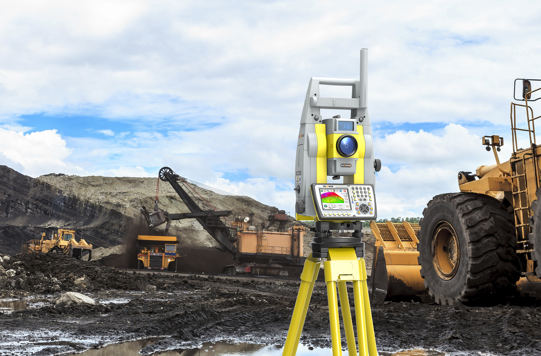 GeoMax Zoom70 serie, Standaard Robotic Total Station