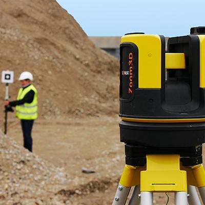 GeoMax Zoom3D met Volgsysteem via camera