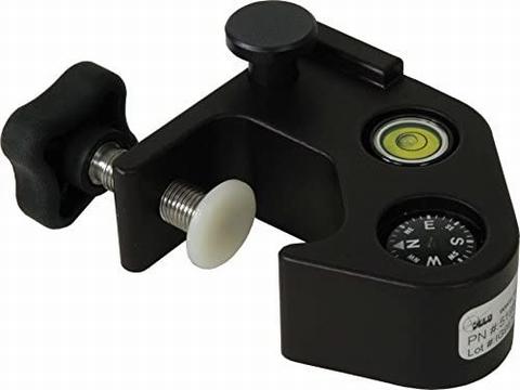 Schroefklem op stok met 40' doosniveau en kompas