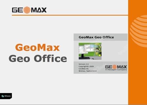 GeoMax Geo Office Tools