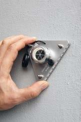 Afschrijf driftnest met magneet voor Driehoek IND0508