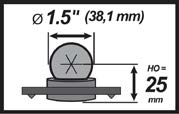 Driehoek uitzethulpstuk voor SMR (excl. driftnest)