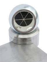 Hoekmeter voor SMR, basis 40mm, hoogte 25 mm hart SMR