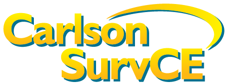 CARLSON SurvCE - SurvPC